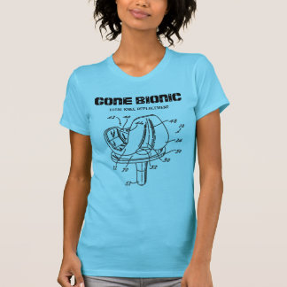 """""""GONE BIONIC"""" Knee Replacement t-shirt"""