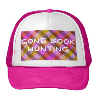 Gone Book Hunting Cap (Pink)