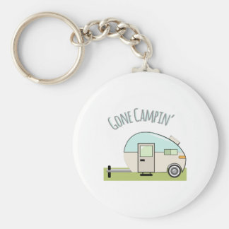 Gone Campin Key Ring