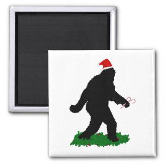 Gone Christmas , Gone Squatchin' Refrigerator Magnet