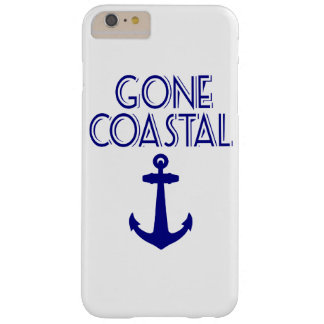 Gone Coastal Navy Blue Anchor Barely There iPhone 6 Plus Case