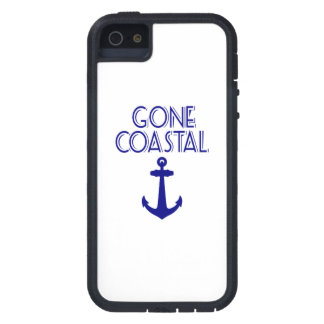 Gone Coastal Navy Blue Anchor Case For iPhone 5