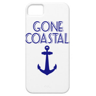 Gone Coastal Navy Blue Anchor Case For The iPhone 5