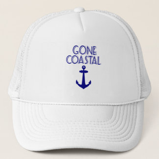 Gone Coastal Navy Blue Anchor Trucker Hat