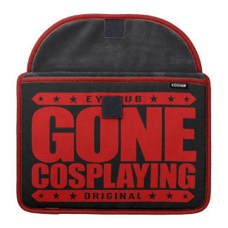 GONE COSPLAYING - Manga, Anime, Cosplay Subculture Sleeve For MacBooks