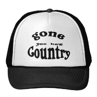 gone country hat