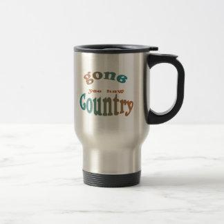 gone country yeehaw mug