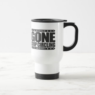 GONE CROP CIRCLING - Are UFO Crop Circles A Hoax? Stainless Steel Travel Mug