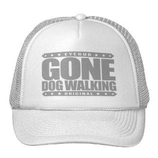 GONE DOG WALKING - Skilled Professional Dog Walker Cap