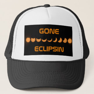 GONE ECLIPSIN Solar Eclipse Trucker Hat