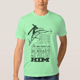Gone Fishin green T Shirt