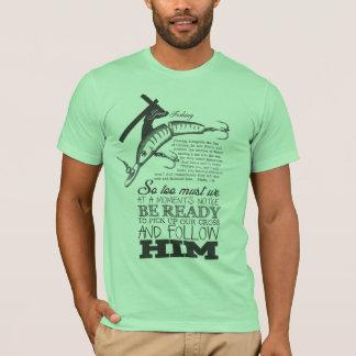 Gone Fishin green T-Shirt