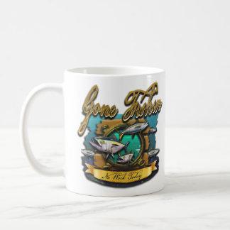 Gone Fishin Port Hole Coffee Mug