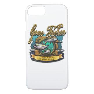 Gone Fishin Port Hole iPhone 7 Case