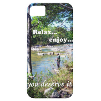 Gone Fishing Card iPhone 5 Case