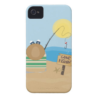 Gone Fishing Case-Mate iPhone 4 Case