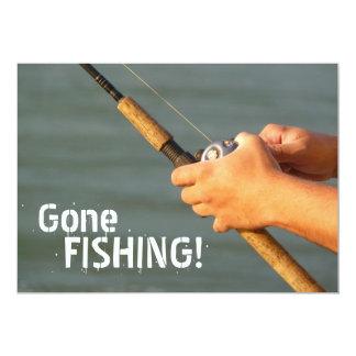 Gone Fishing! Company Fishing Trip Invitation