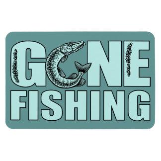 GONE FISHING custom magnet