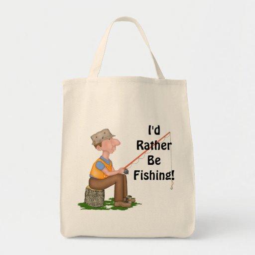 Gone Fishing Fisherman Bags