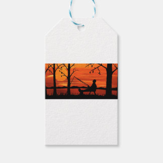 Gone Fishing Gift Tags