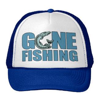GONE FISHING hat - choose color