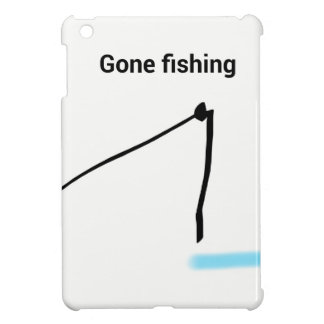 Gone fishing iPad mini cover