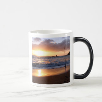 gone fishing magic mug