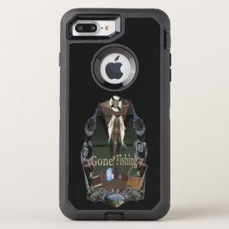Gone Fishing OtterBox Defender iPhone 7 Plus Case
