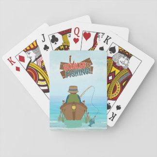 Gone Fishing Playing Cards
