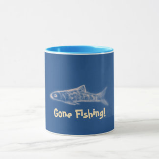 Gone Fishing! Ringer Mug