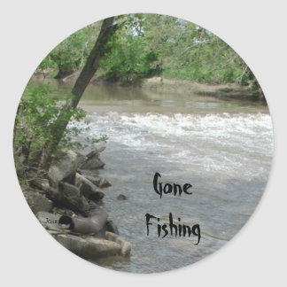 Gone Fishing Stickers by Janz