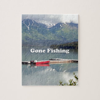 Gone Fishing: Trail Lake, Alaska Jigsaw Puzzle