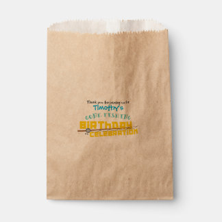 Gone Fishing Treat Bags