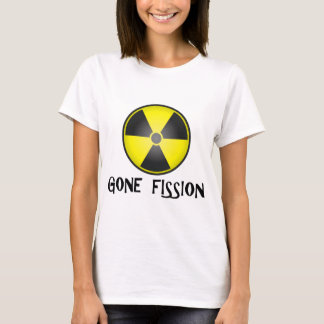 Gone Fission Radiation Symbol T-Shirt