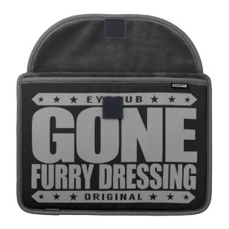 GONE FURRY DRESSING - Love Furry Fandom Subculture MacBook Pro Sleeves