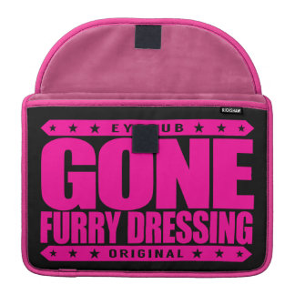 GONE FURRY DRESSING - Love Furry Fandom Subculture Sleeve For MacBook Pro