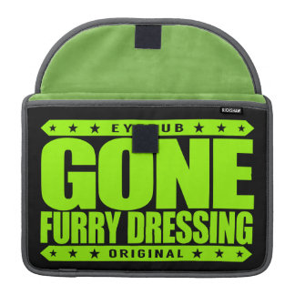 GONE FURRY DRESSING - Love Furry Fandom Subculture Sleeves For MacBooks