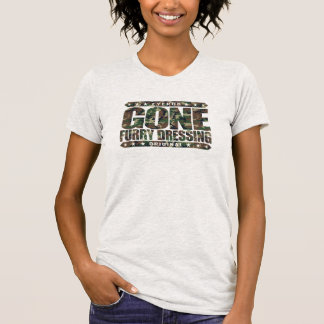 GONE FURRY DRESSING - Love Furry Fandom Subculture T Shirt