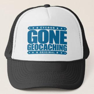 GONE GEOCACHING - Love GPS Treasure-Hunting Games Trucker Hat
