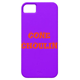 """"""" Gone Ghoulin """" Funny Halloween Design Barely There iPhone 5 Case"""