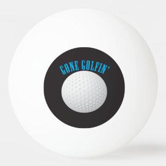 Gone Golfing Ping Pong Ball