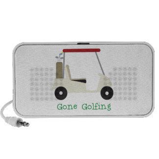 Gone Golfing Travel Speakers