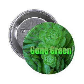 Gone Green 1 Button