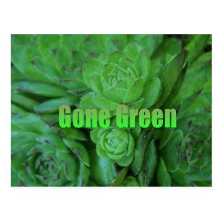 Gone Green 1 Postcard