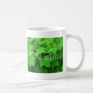 Gone Green 2 Basic White Mug