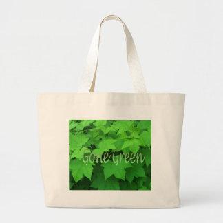 Gone Green 2 Jumbo Tote Bag