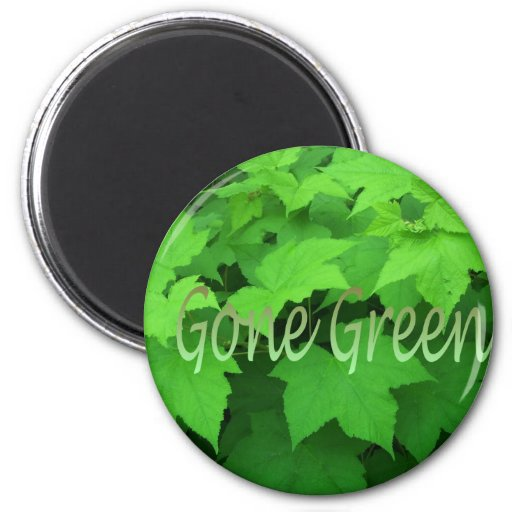 Gone Green 2 Magnets