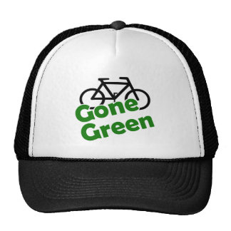 gone green bicycle hats