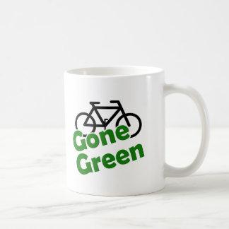 gone green bicycle coffee mug