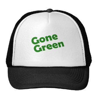 gone green mesh hats